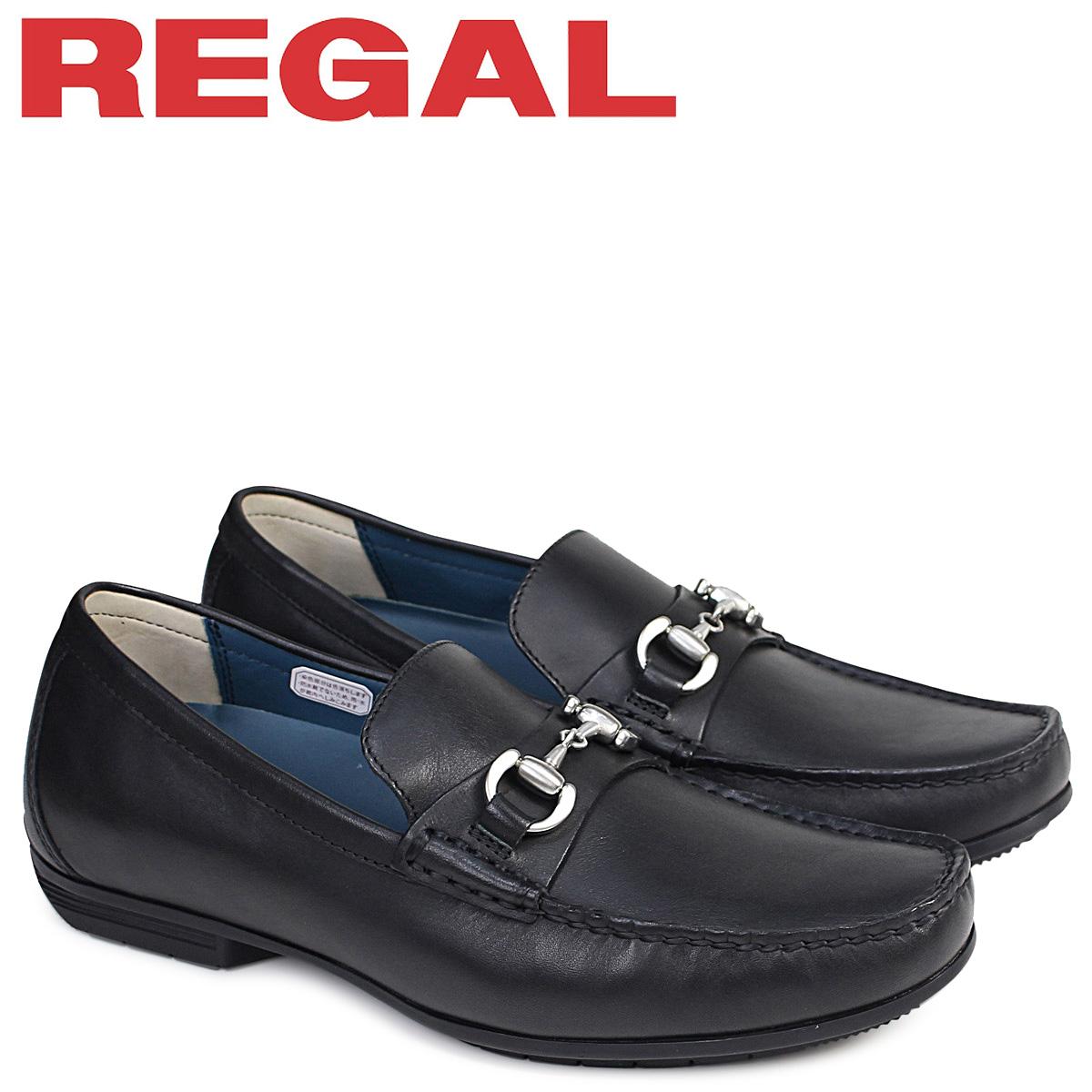 ブラック REGAL ドライビングシューズ メンズ 57HRAF 追加入荷] カジュアル 靴 [9/12 リーガル