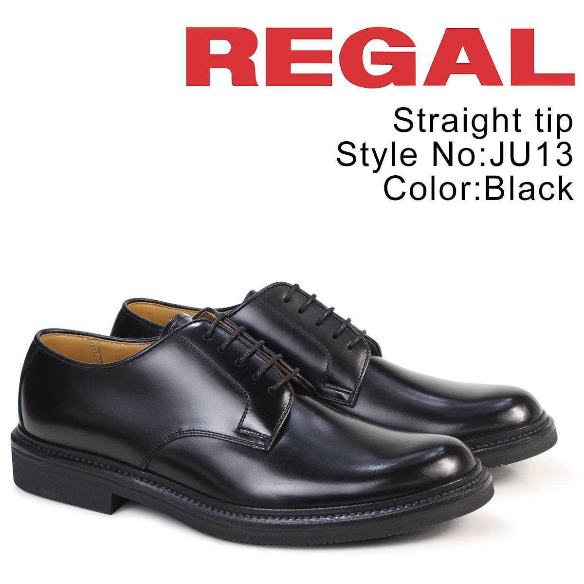 REGAL 靴 メンズ リーガル プレーントゥ JU13AG ビジネスシューズ ブラック [9/12 追加入荷]