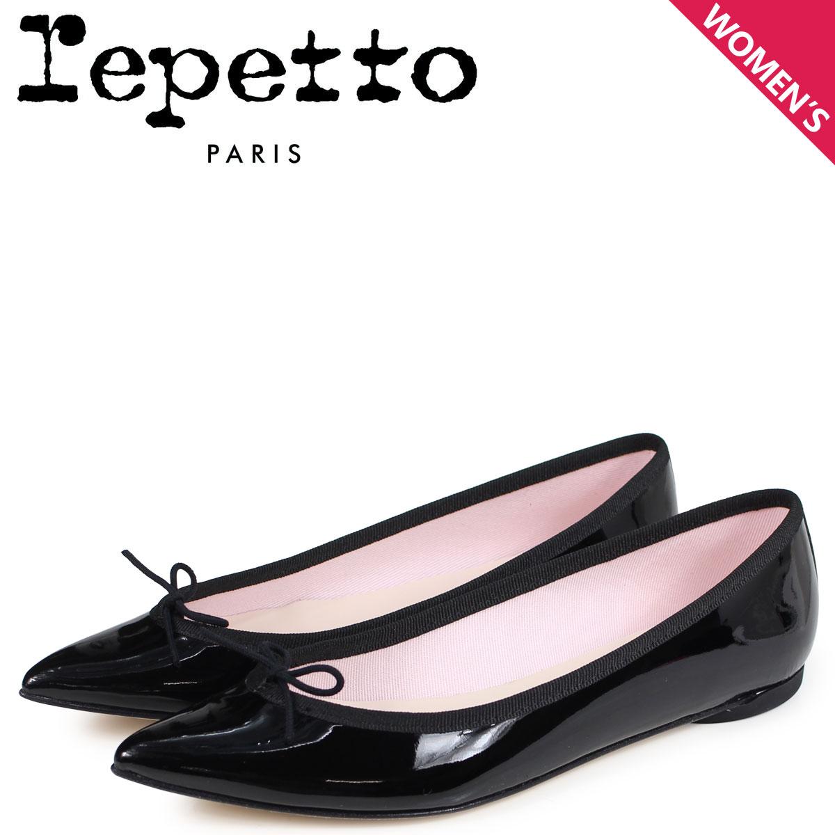 Repetto レペット バレエシューズ ブリジット パンプス レディース BRIGITTE BALLERINA ブラック 黒 V1556-410