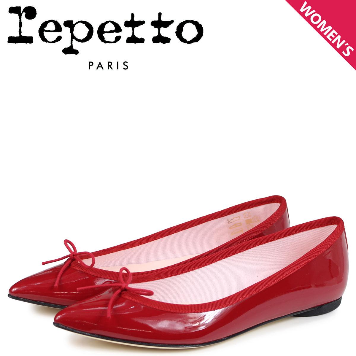 Repetto レペット バレエシューズ ブリジット パンプス レディース BRIGITTE BALLERINA レッド 赤 V1556-550