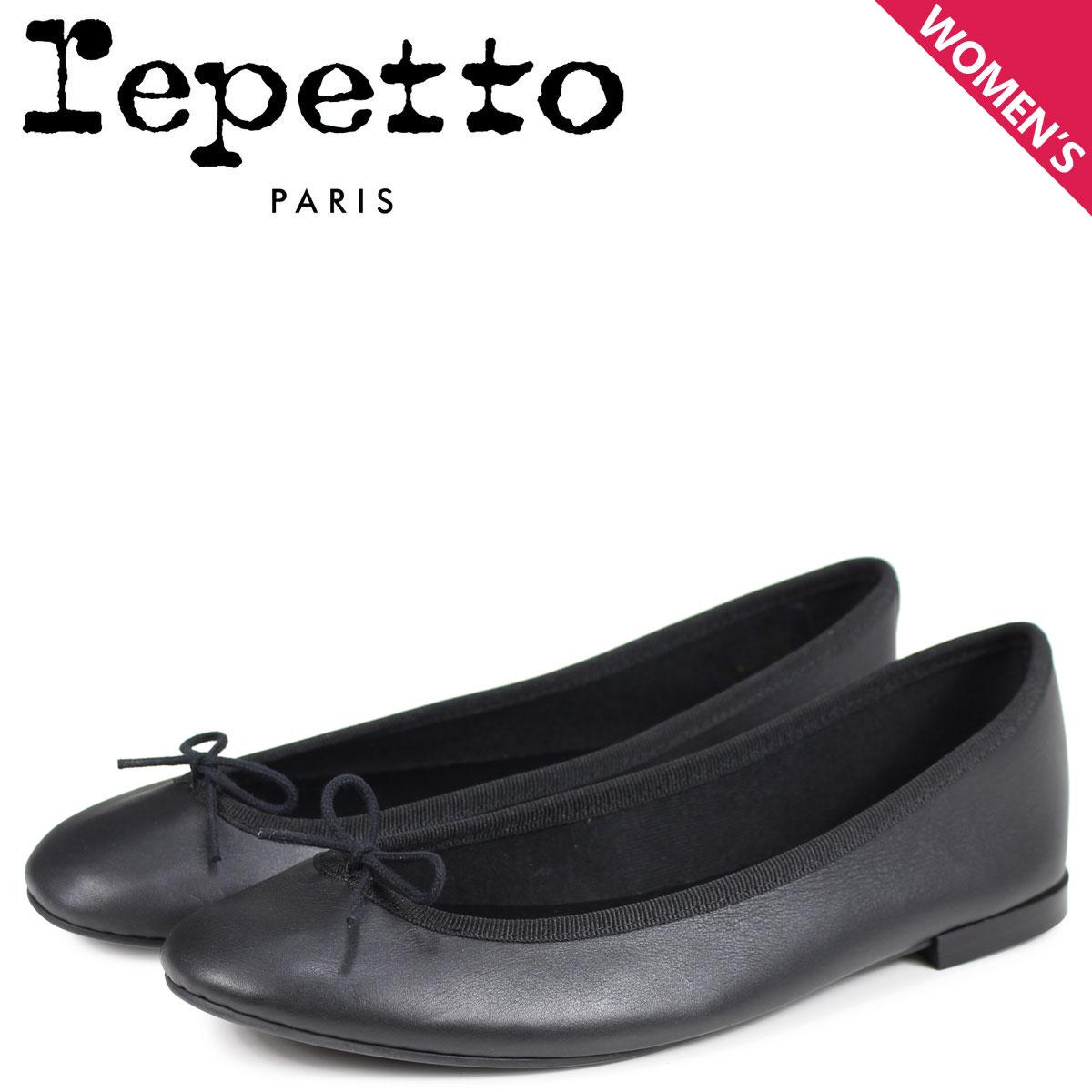 Repetto レペット バレエシューズ リリ パンプス レディース LILI BALLERINA ブラック V1790-410