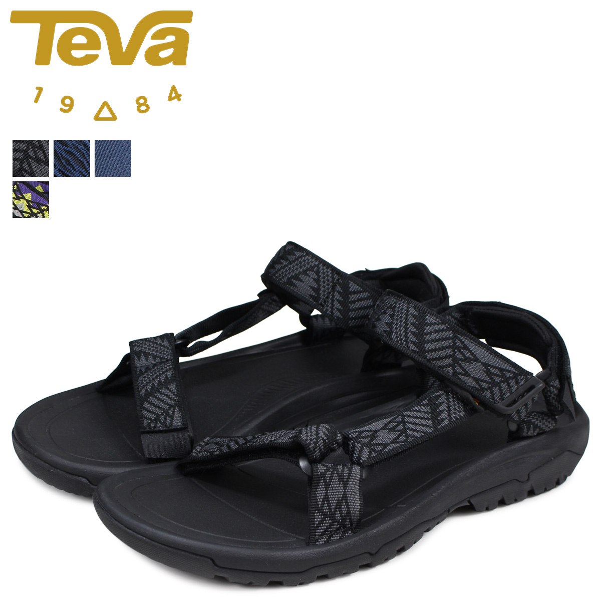 210f29bbf128 Teva Teva sandals hurricane XLT 2 men s HURRICANE black blue black 1019234   load planned Shinnyu load in reservation product 3 13 containing
