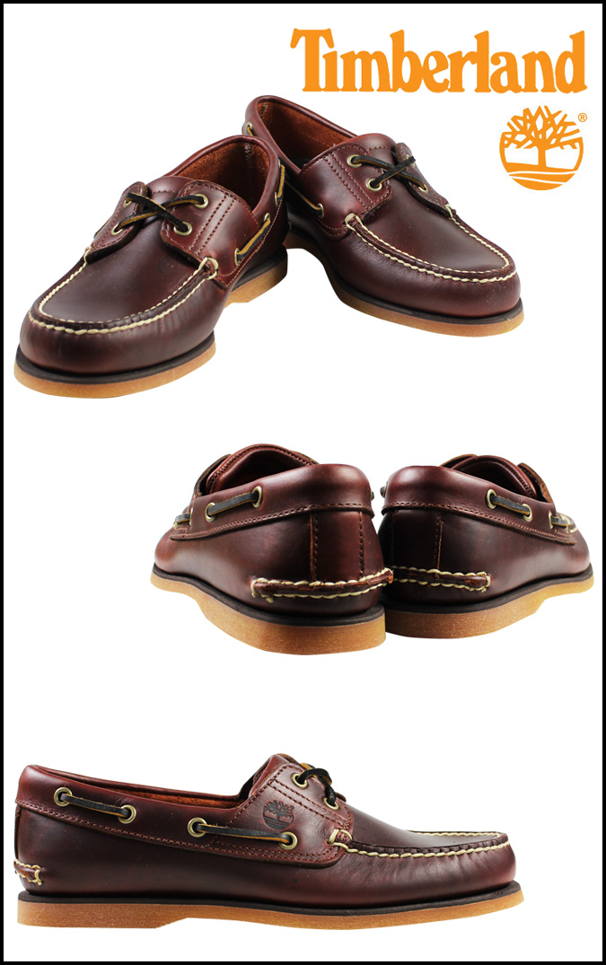 «Reservation products» «3 / 24 time stock» Timberland Timberland Earthkeepers 2 Hall boat shoes EK 2-EYE BOAT SHOES leather mens Womens deck shoe 25077 Rootbeer unisex [3 / 24 new stock] [regular] ★ ★