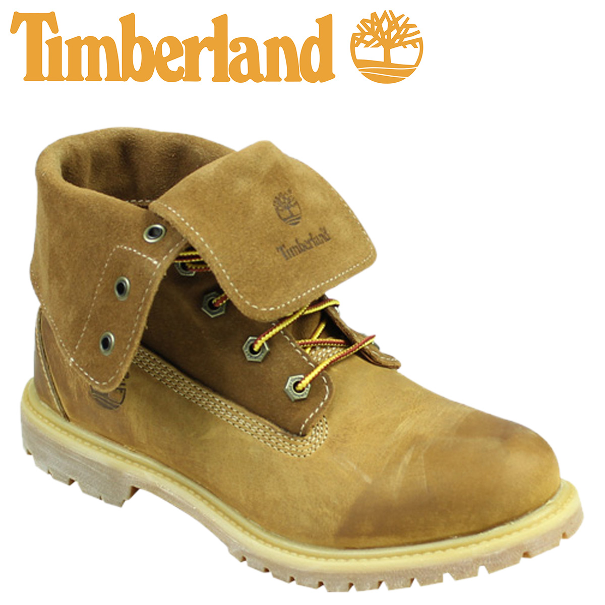 timberland authentics roll top boots
