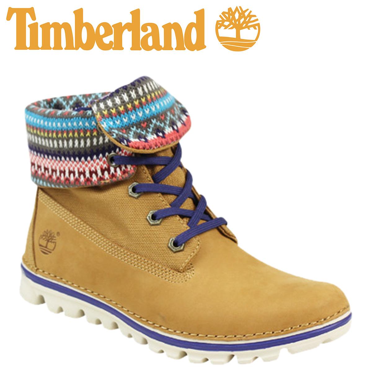 Timberland Timberland women s Earthkeepers Brooke t roll top boots WOMEN S  EK BRKTN RT KNIT W wise nubuck 8350A wheat 077eb1a438