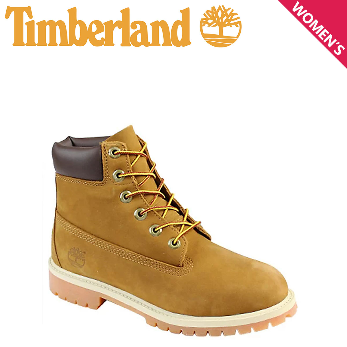 Timberland ティンバーランド 6INCH 6インチ プレミアム ブーツ レディース JUNIOR 6-INCH PREMIUM BOOT 14949 防水