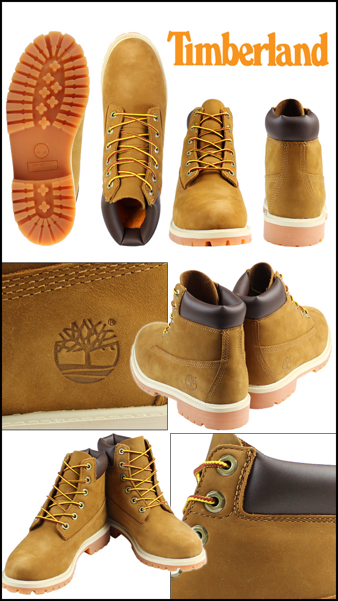 Timberland Timberland waterproof 6 inch premium boots 14949 6inch Premium Waterproof  Boot nubuck junior kids child ladies 0db45013b