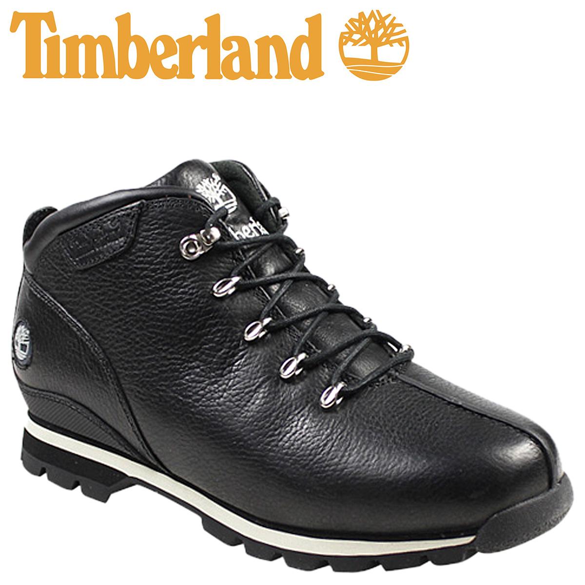 be6243aad7 Timberland Timberland split rock ankle boots leather SPLITROCK LEATHER  ANKLE BOOT nubuck mens 20599 black ...