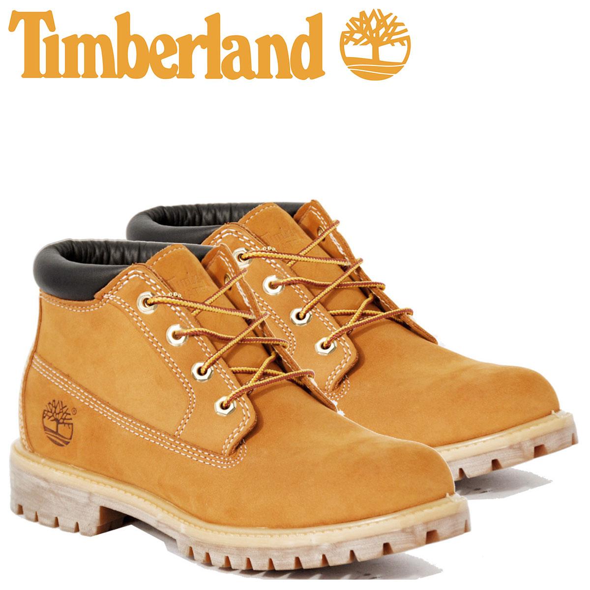 Timberland ブーツ チャッカ メンズ ティンバーランド WATERPROOF CHUKKA BOOT 23061 Wワイズ 防水 [4/27 再入荷]
