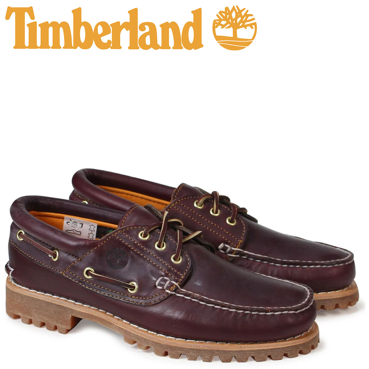 Timberland デッキシューズ メンズ ティンバーランド HERITAGE 3 EYE CLASSIC LUG 50009