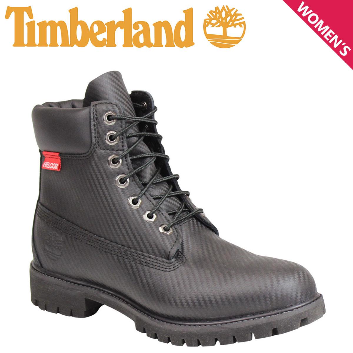 Timberland ティンバーランド 6 INCH PRM HELCOR CARBON FIBER BOOT ブーツ 6インチ プレミアム ヘルカー カーボンファイバー 6605A Wワイズ ブラック 黒 メンズ