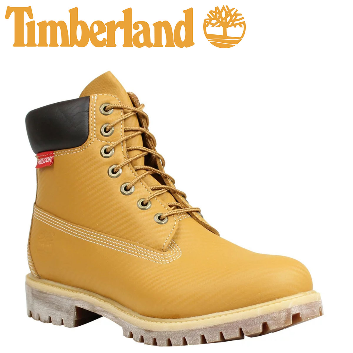 6 inches of Timberland Timberland 6 INCH PRM HELCOR CARBON FIBER BOOT boots premium Hel car carbon fiver 6,607A W ワイズウィートメンズ