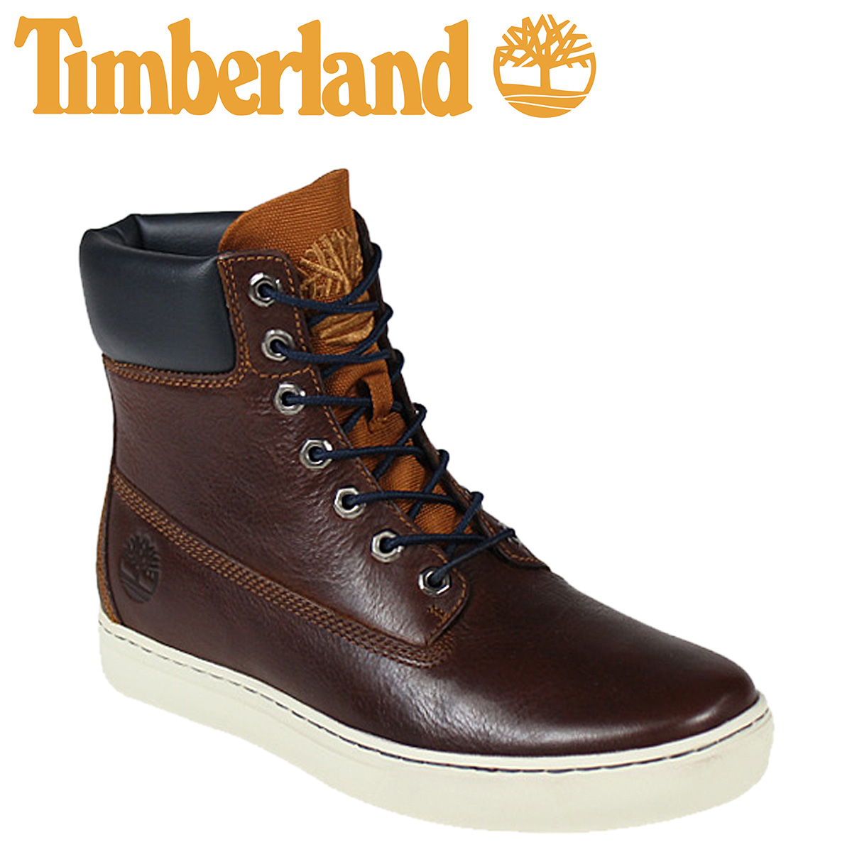 b637e1fcd1ae Timberland Newmarket Timberland cupsole 2.0 6 inch boots NEWMARKET 2.0 CUPSOLE  6 INCH BOOT leather men s 6811A ginger x Navy  1   9 new in stock    regular  ...
