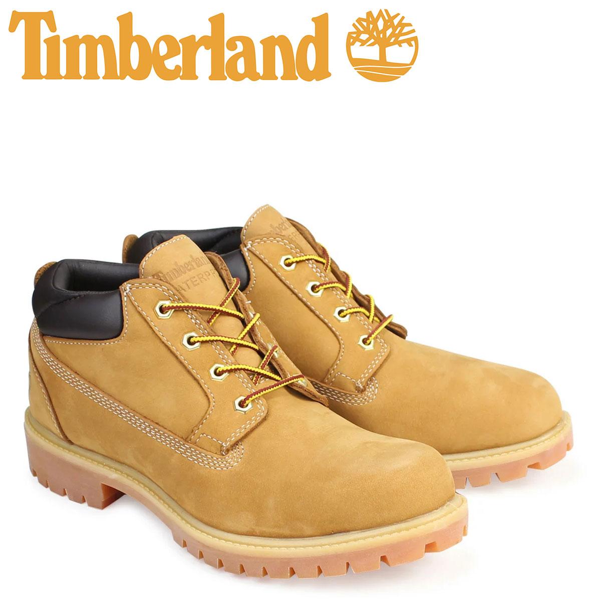 Timberland ブーツ メンズ ティンバーランド オックスフォード PREMIUM WATERPLOOF OXFORD 73538 Wワイズ プレミアム ウィート 防水