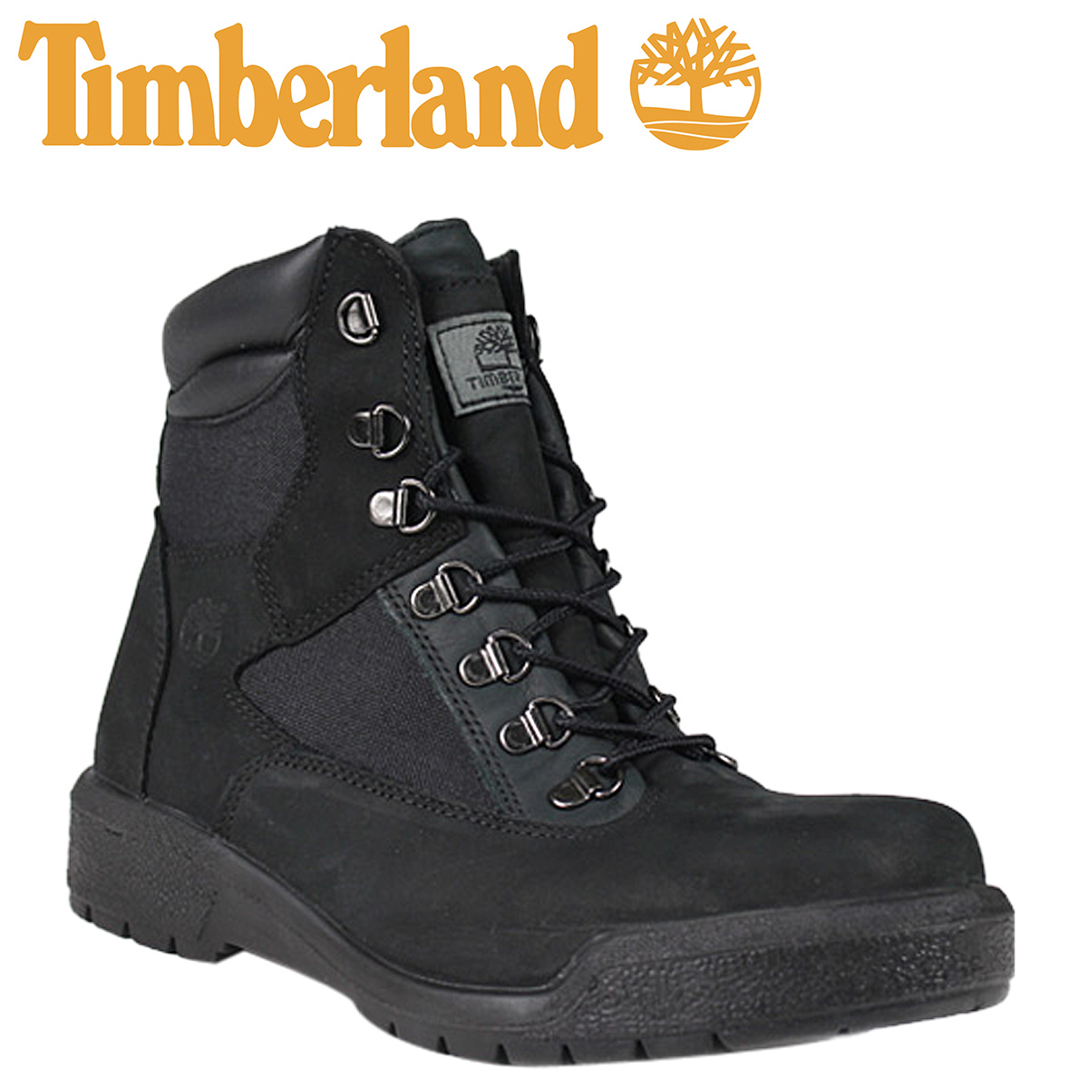 c26d30b93e3e Timberland Timberland 6 inch field boots black nylon leather mens shoes  work boots nylon leather NYLON LEATHER BLACK