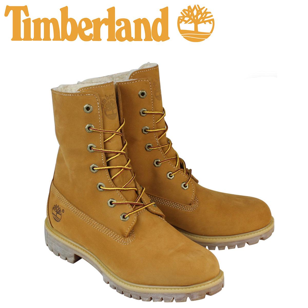 Timberland ティンバーランド HERITAGE FOLD-DOWN WARM FLEECE LINED BOOT ブーツ ヘリテージ フォルドダウン フリース ライン A118C ウィート メンズ