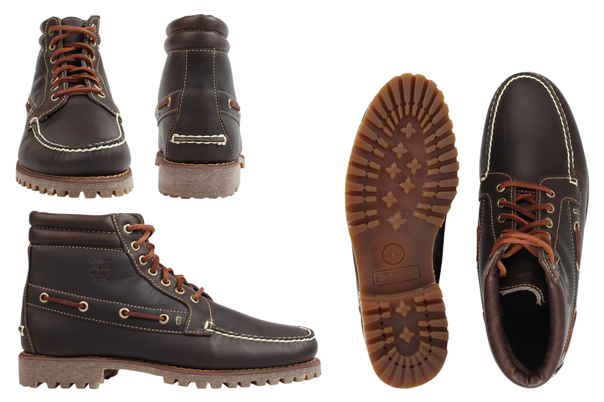 Details about Timberland Pendleton Brown Leather 7 Eye