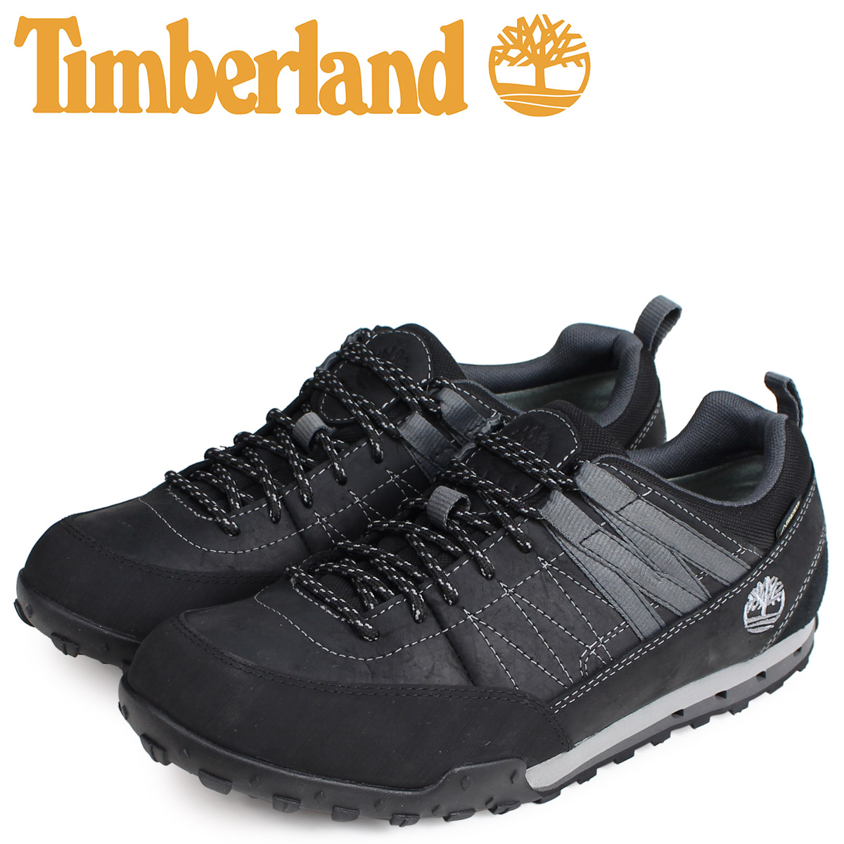 Timberland Timberland sneakers Greeley approach men GREELEY APPROACH LOW GORE TEX black black A18OB