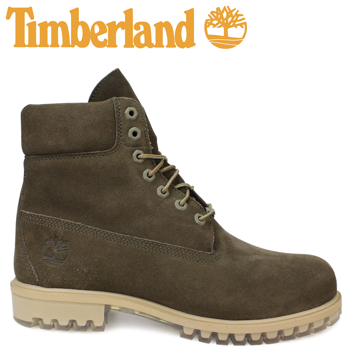83108e54f2e 6 inches of Timberland boots men Timberland 6INCH PREMIUM SUEDE BOOT A18PZ  W Wise waterproofing dark green