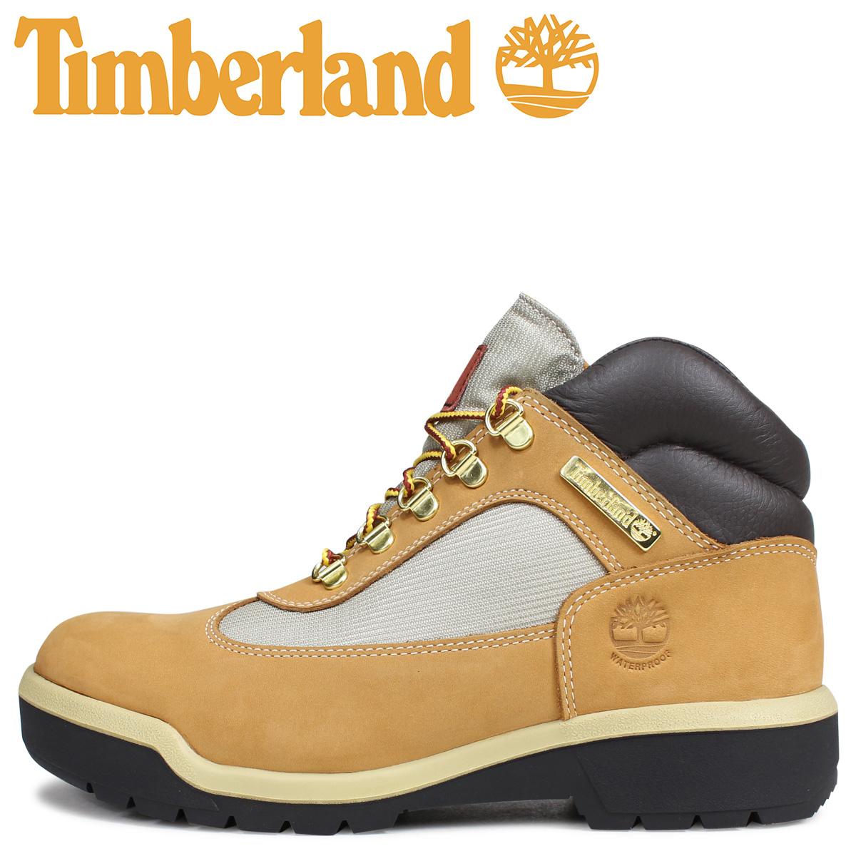 Timberland ティンバーランド フィールド ブーツ メンズ FIELD BOOT F/L WP 防水 ウィート ベージュ A18RI