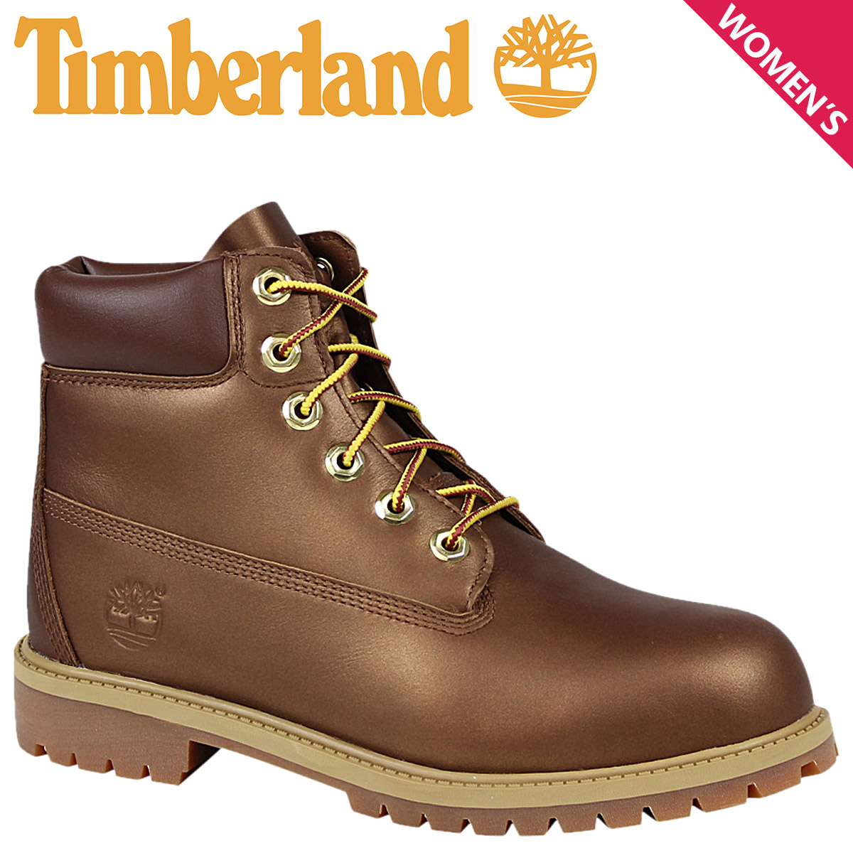 fb07a49a79c6 Women s Timberland Timberland 6 INCHI 6 inch premium boots WOMEN S 6-INCH  PREMIUM WATERPROOF BOOTS A19XM W wise waterproof Brown  10 3 new in stock