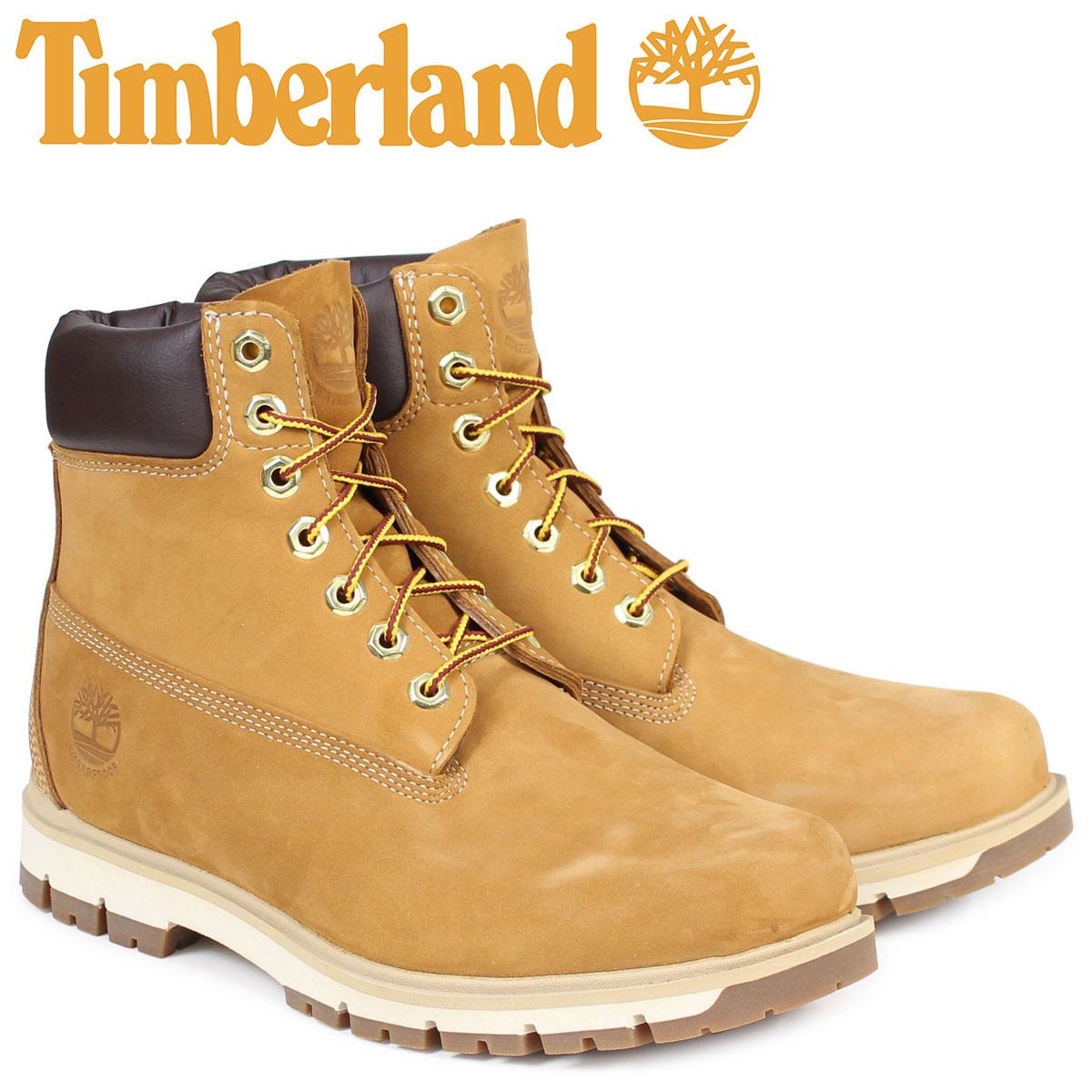 Timberland ティンバーランド ブーツ メンズ 6インチ RADFORD 6INCH PREMIUM BOOT A1JHF ウォータープルーフ Wワイズ 防水 ブラウン