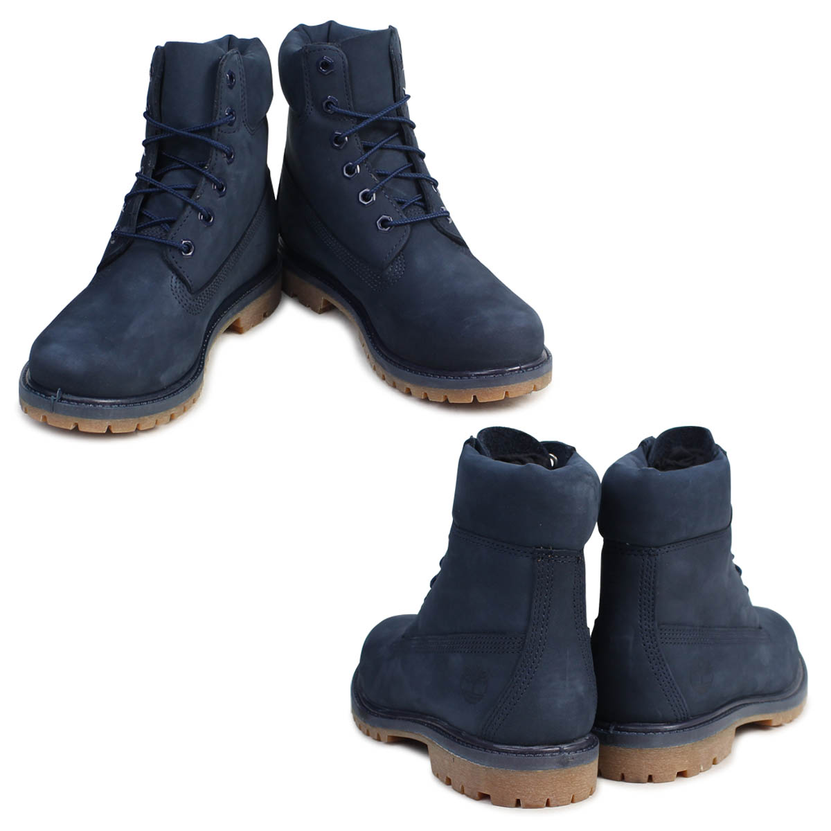 6 inches of Timberland men s lady s Timberland boots 6INCHI PREMIUM  WATERPROOF BOOTS A1K41 W Wise waterproofing navy  8 10 Shinnyu load  f3e0564ce325