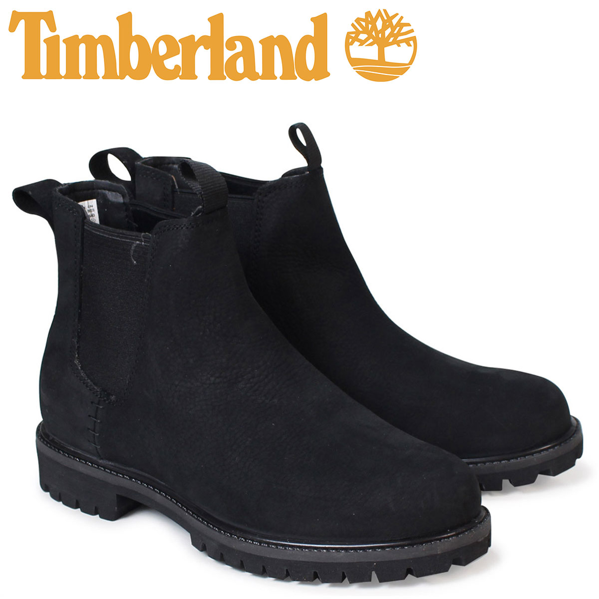 937de8734a82 6 inches of Timberland men s Timberland boots premium 6INCHI PREMIUM  CHELSEA BOOTS A1M55 W Wise waterproofing black  load planned Shinnyu load  in ...