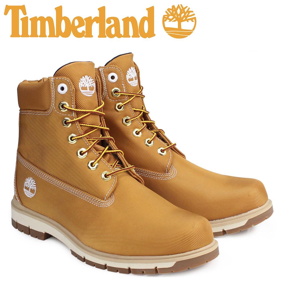 Timberland 6インチ メンズ ティンバーランド ブーツ 6INCHI RADFORD CANVAS BOOTS A1M8X Wワイズ 防水 ベージュ
