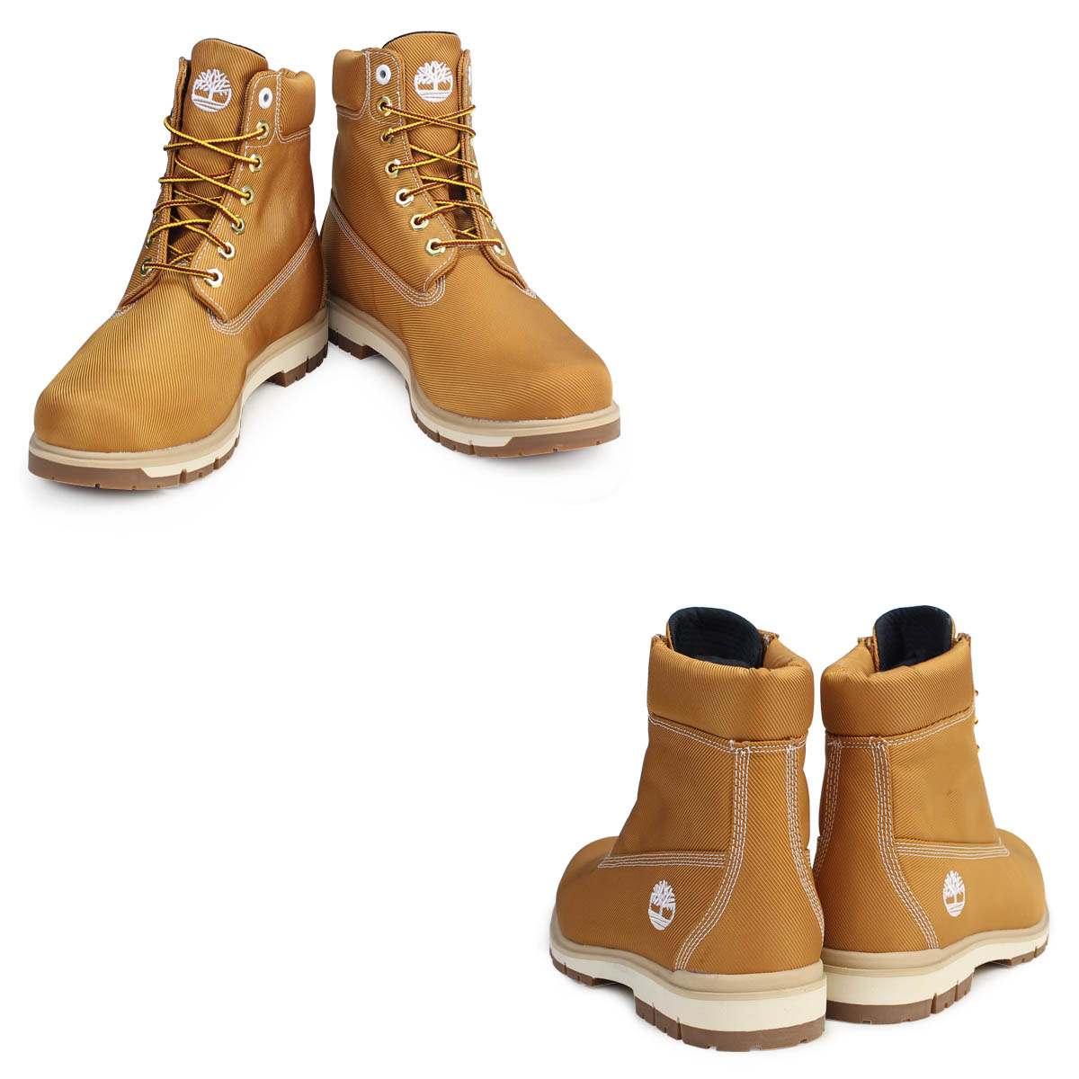 Timberland 6 inches men's Timberland boots 6INCHI RADFORD CANVAS BOOTS A1M8X W Wise waterproofing is beige