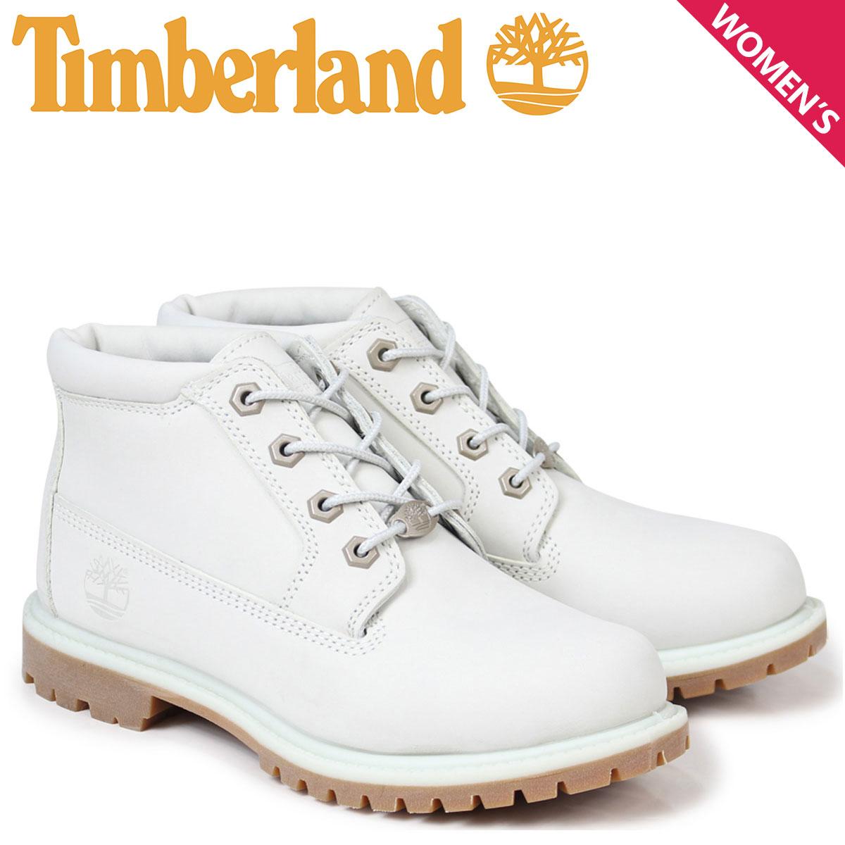 Timberland チャッカ レディース ティンバーランド ブーツ WOMEN'S NELLIE WATERPROOF CHUKKA BOOTS A1NDK Wワイズ ライトブルー