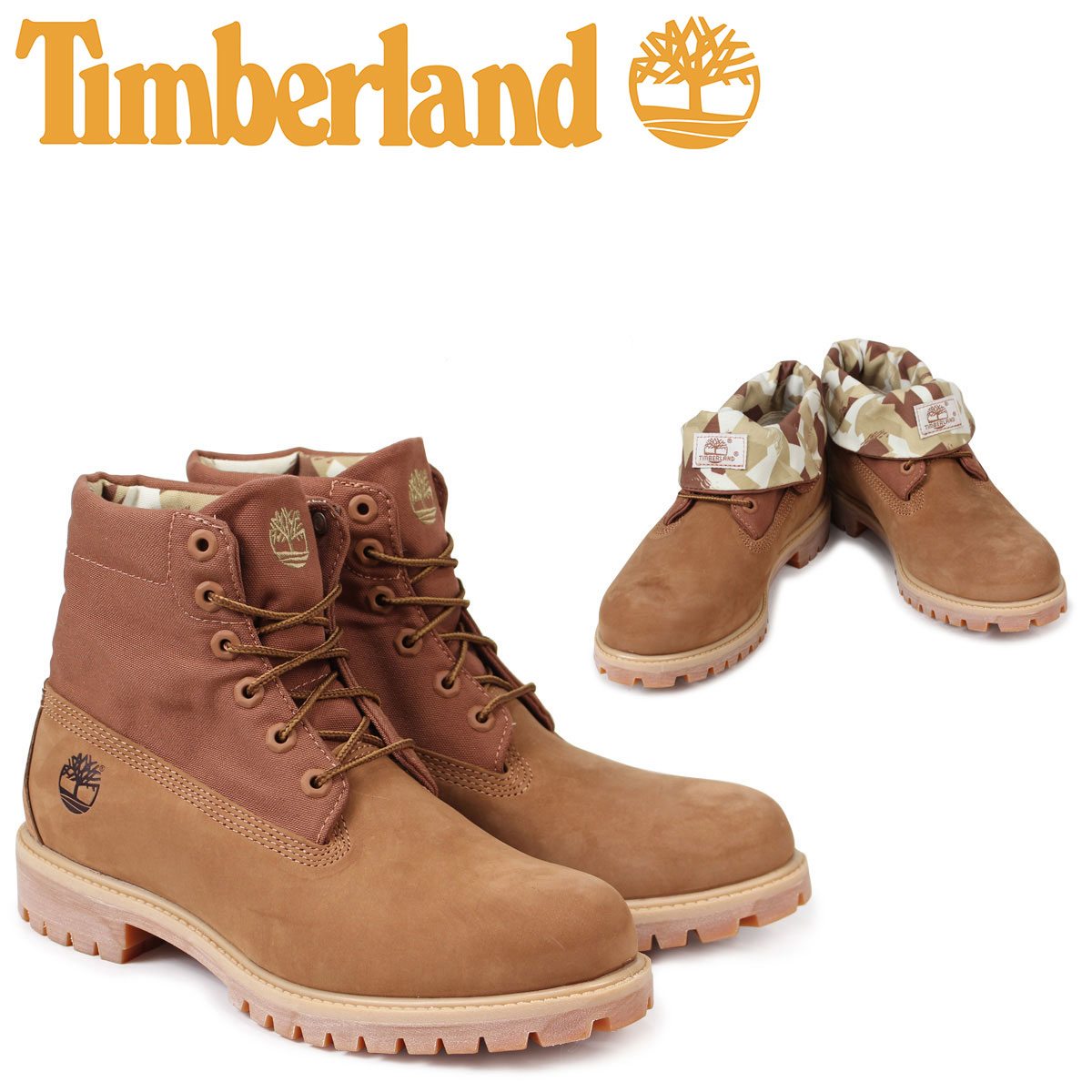 Timberland roll top Timberland boots men ROLL TOP BOOT A1PBL W Wise brown