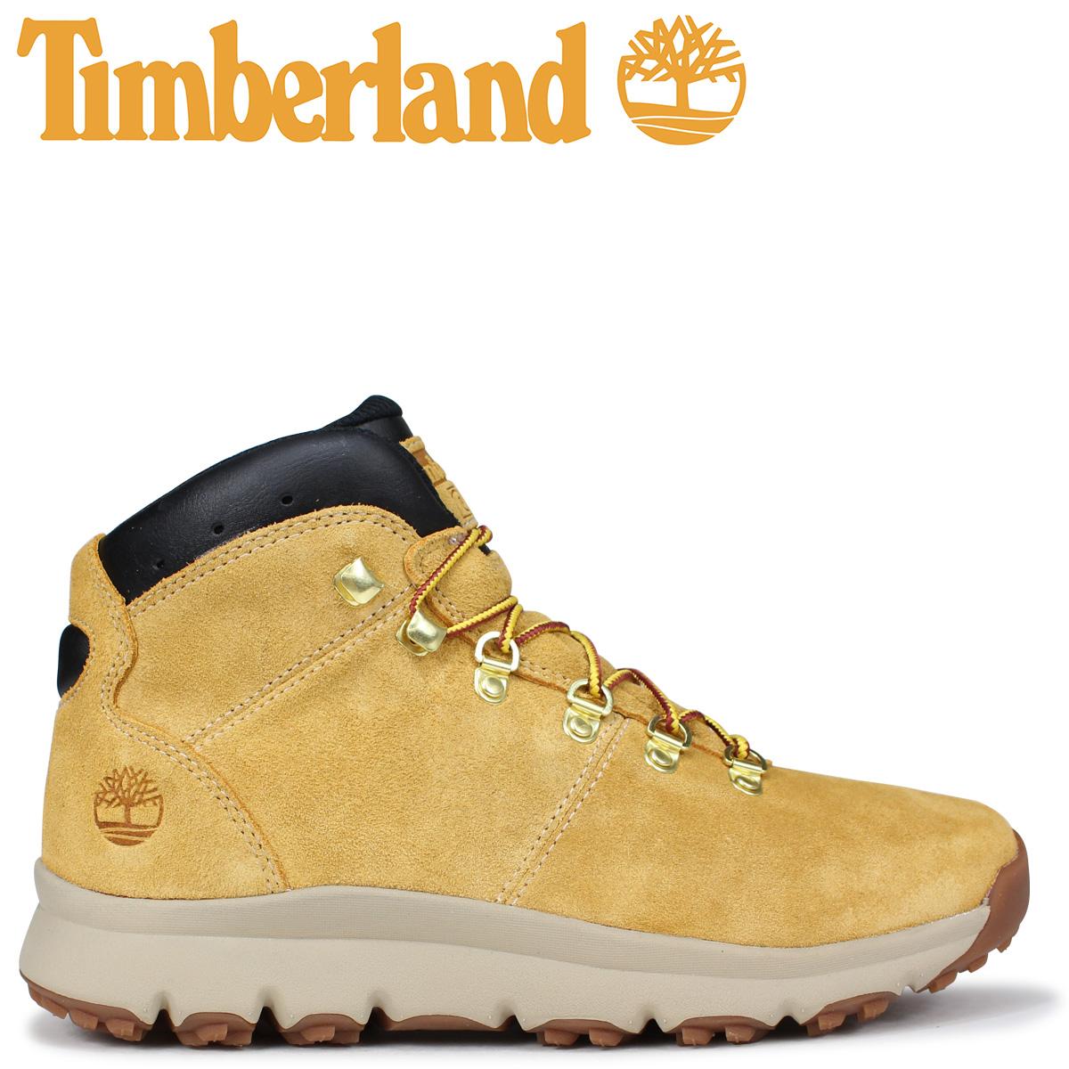 Timberland ブーツ メンズ ティンバーランド WORLD HIKER A1QEW Mワイズ ウィート [9/7 新入荷]