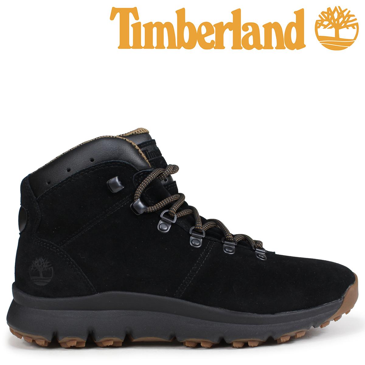 Timberland ブーツ メンズ ティンバーランド WORLD HIKER A1QFL Wワイズ ブラック [9/5 新入荷]
