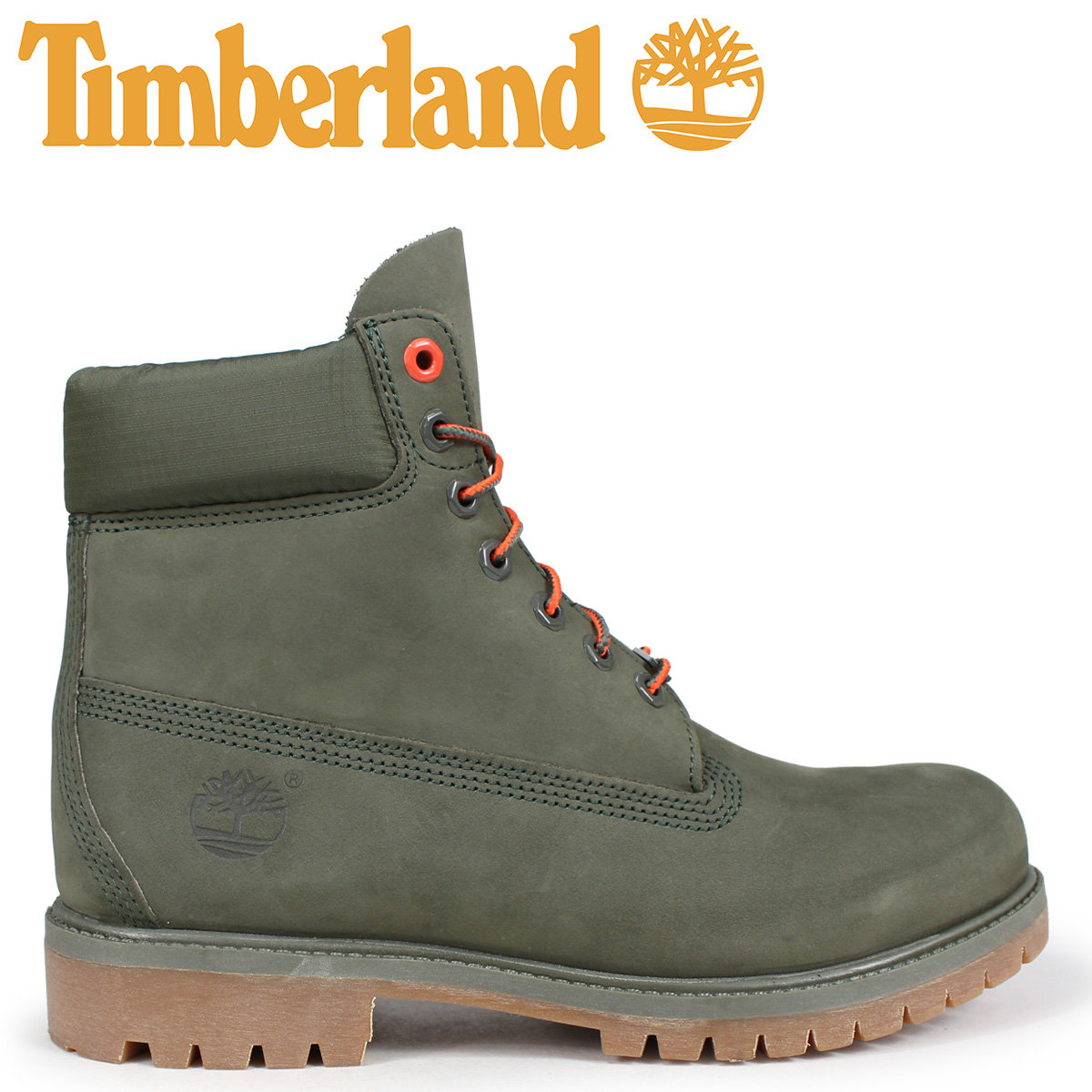 Timberland ブーツ メンズ 6インチ ティンバーランド 6-INCH PREMIUM BOOTS A1QY1 Wワイズ グリーン [10/11 新入荷]