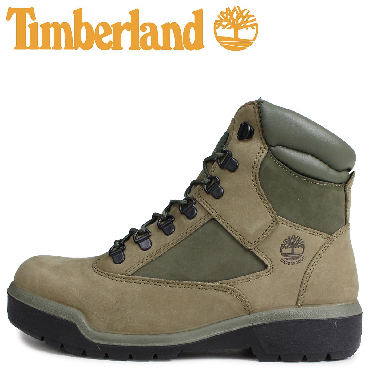 Timberland ティンバーランド ブーツ 6インチ メンズ 6-INCH FIELD BOOT Mワイズ ライトグリーン A1RBP