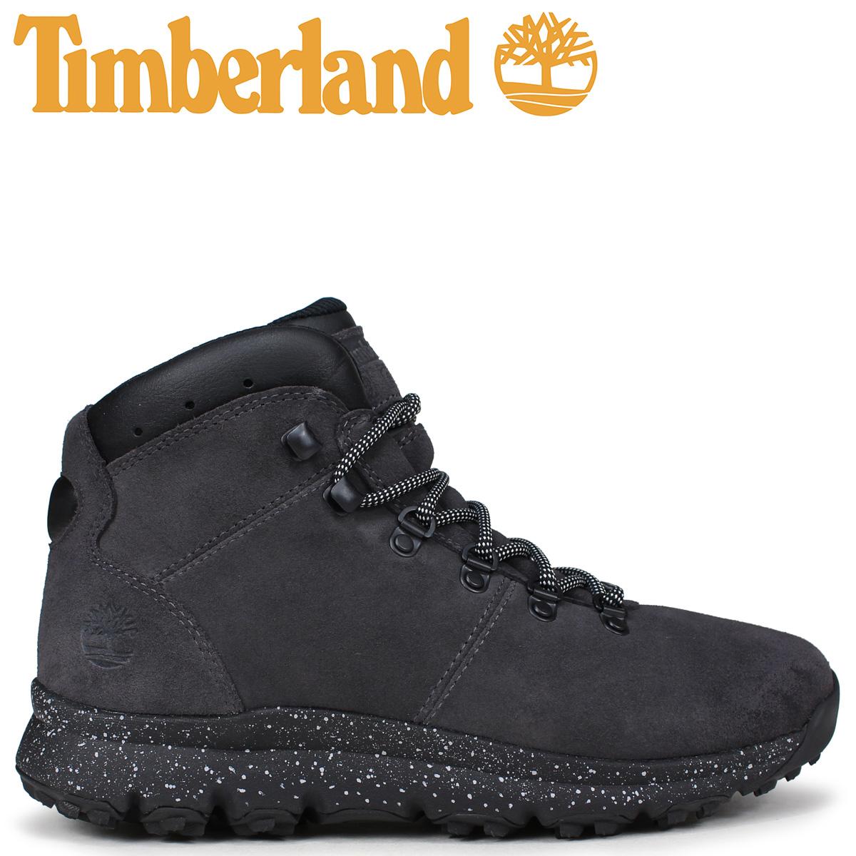 Timberland ブーツ メンズ ティンバーランド WORLD HIKER A1RCK Mワイズ ダークグレー