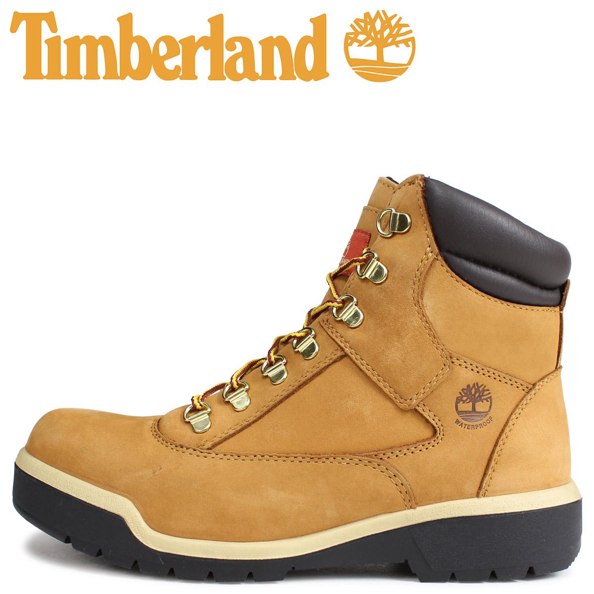 Timberland ティンバーランド ブーツ 6インチ メンズ 6-INCH FIELD BOOT Mワイズ ウィート A1RCO