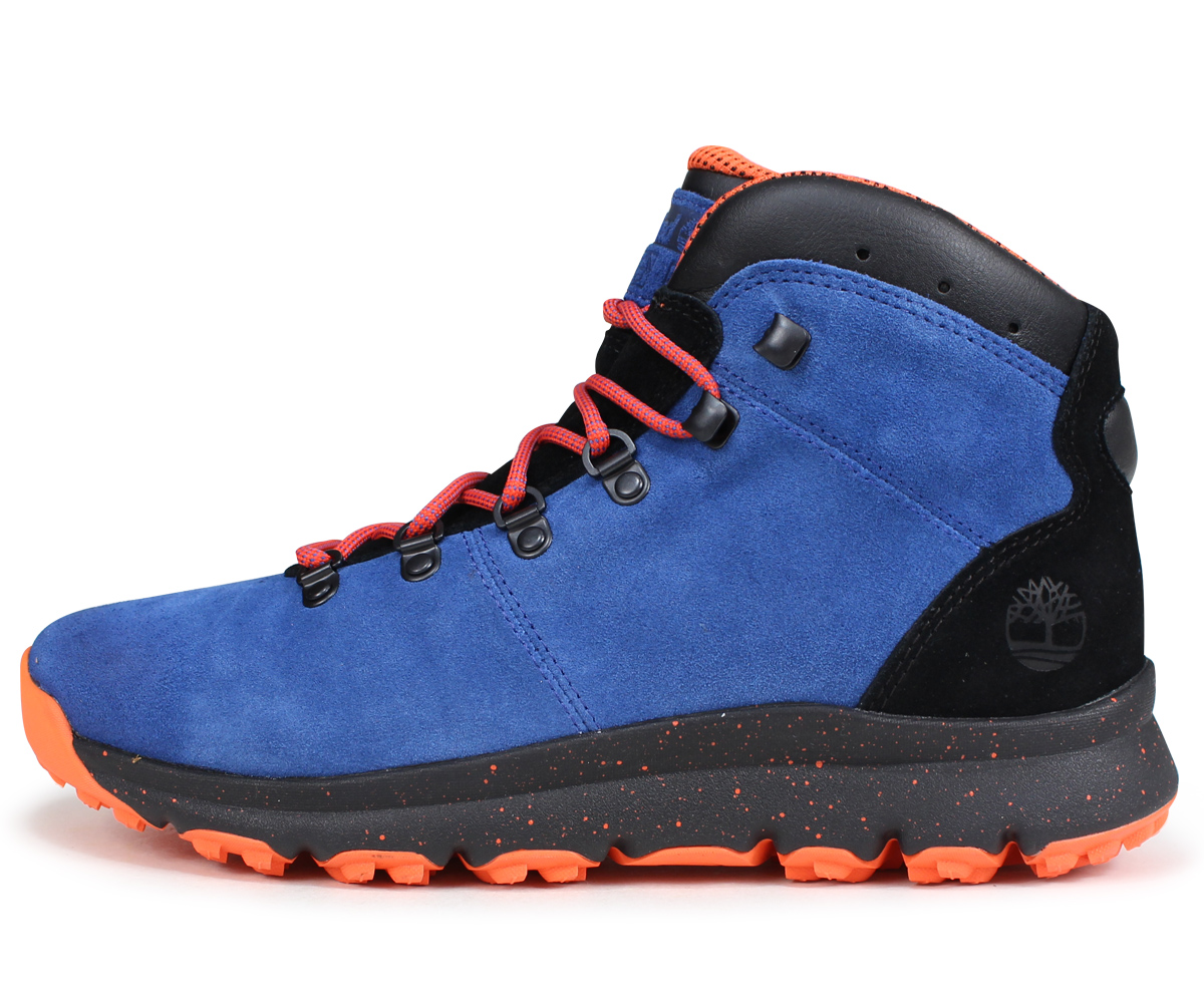 Timberland Boots Men World Hiker A1rfr W Wise Blue Load Planned Shinnyu In  Reservation 9 5 129f3efe9226