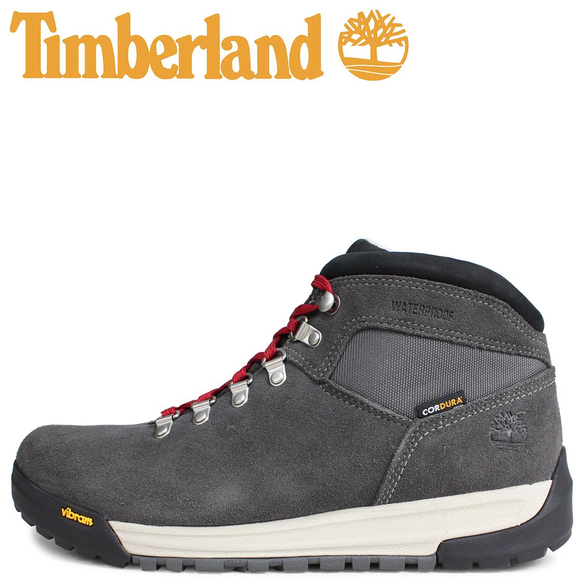 Timberland ティンバーランド ブーツ GT スクランブル メンズ SCRAMBLE MID BOOT Wワイズ ダークグレー A1RHZ