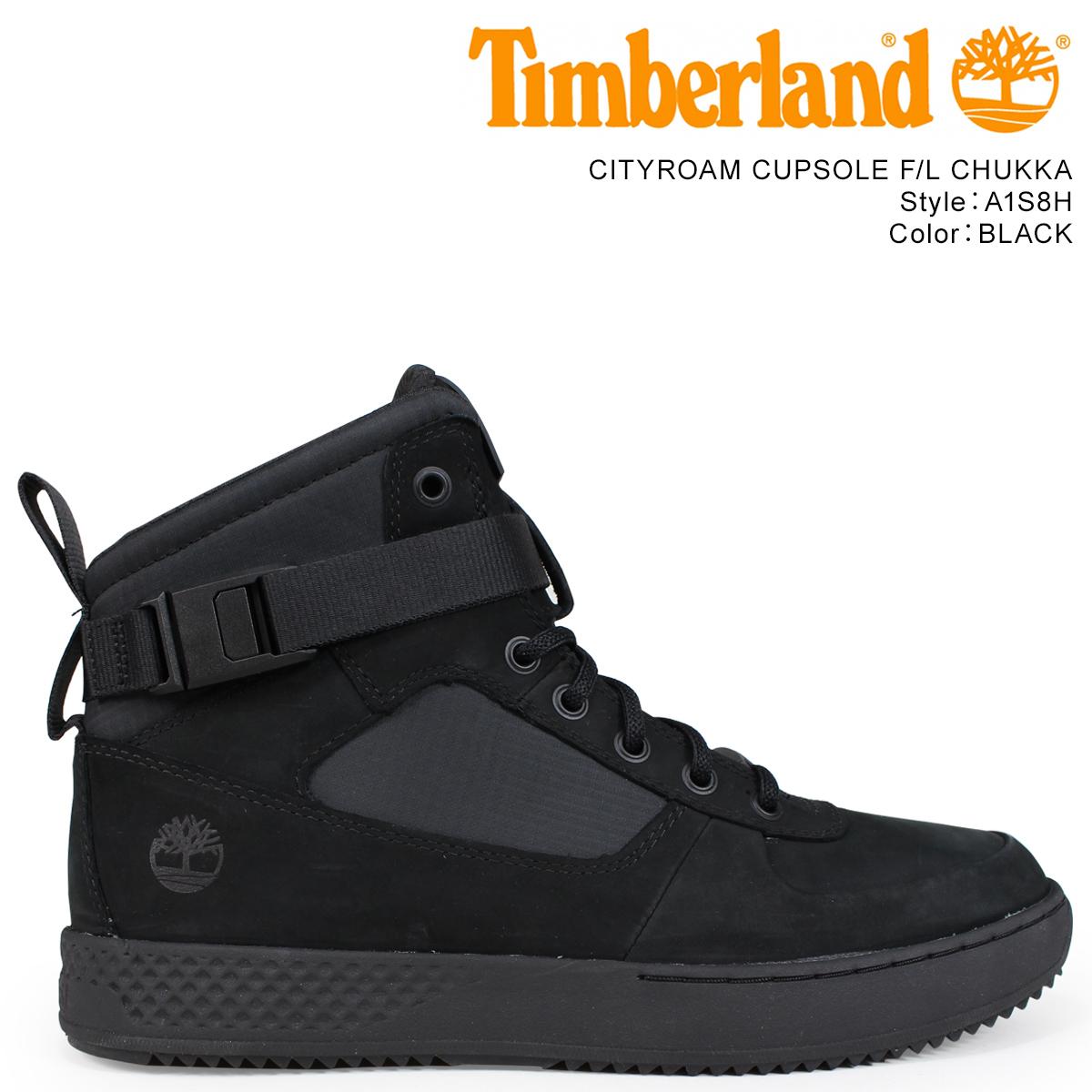 Timberland スニーカー ブーツ メンズ ティンバーランド CITYROAM CUPSOLE FL CHUKKA A1S8H Wワイズ ブラック