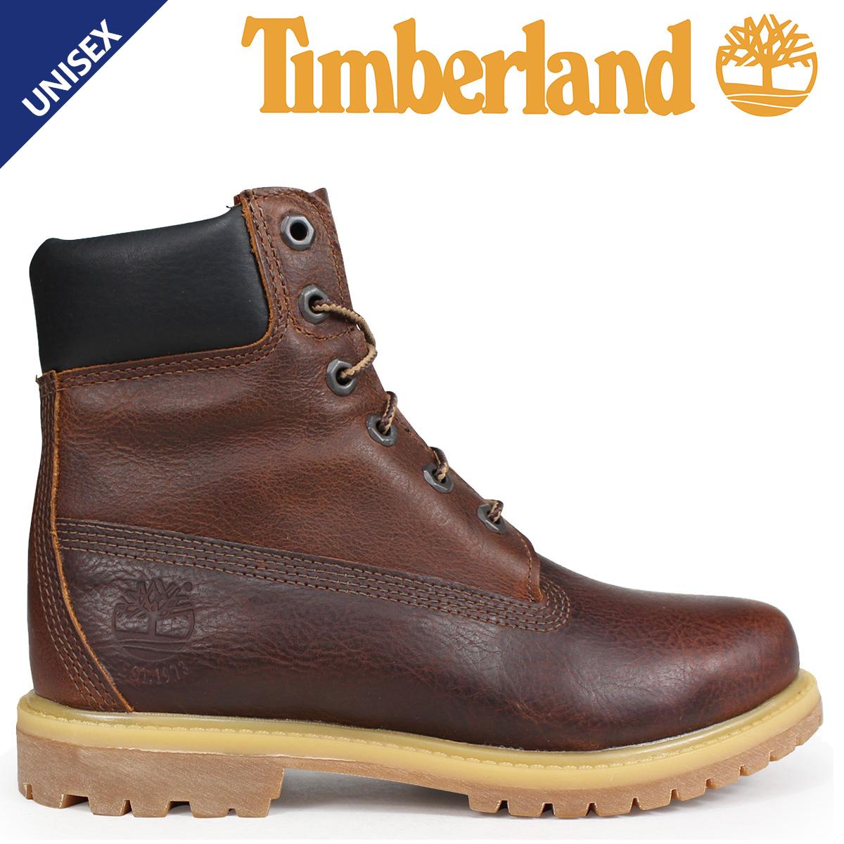 Timberland ティンバーランド ブーツ 6インチ メンズ レディース 6-INCH PREMIUM BOOTS Wワイズ ブラウン A1TLM [3/19 追加入荷]