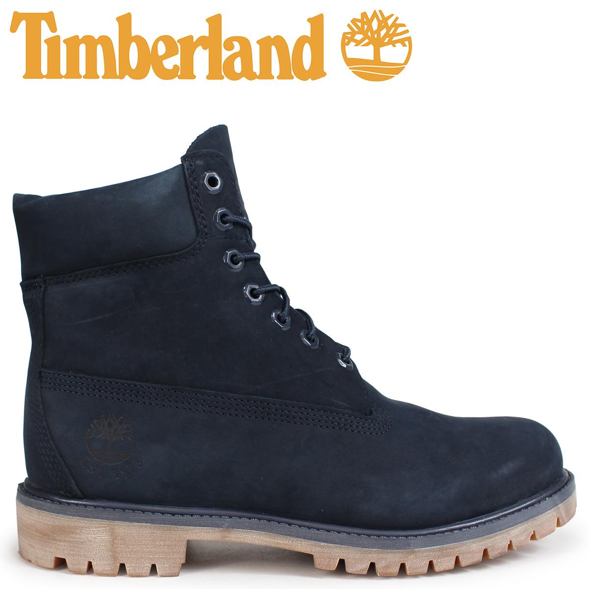 Timberland ブーツ メンズ 6インチ ティンバーランド 6-INCH PREMIUM BOOTS A1TSZ Wワイズ ネイビー [10/22 新入荷]