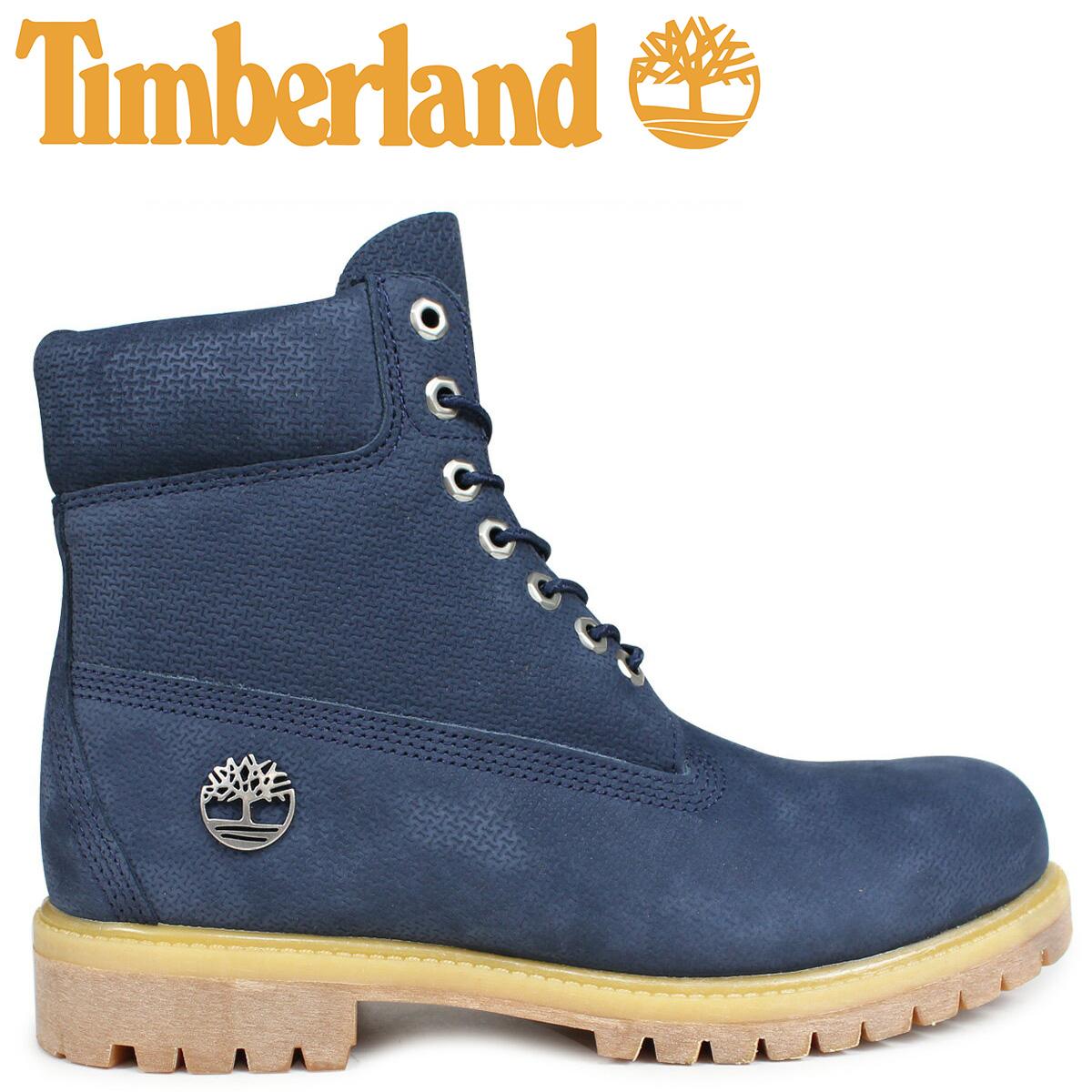 Timberland ブーツ メンズ 6インチ ティンバーランド 6INCH PREMIUM BOOT A1U89 Wワイズ プレミアム ブラック 黒