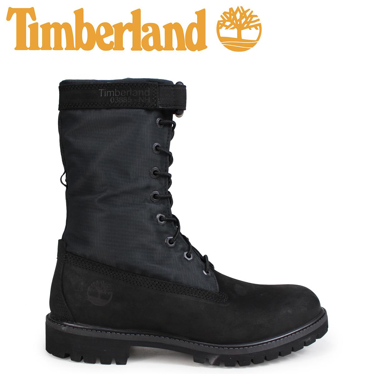Timberland ブーツ メンズ 6インチ ティンバーランド 6-INCH PREMIUM GAITER BOOTS A1UBP Wワイズ ブラック
