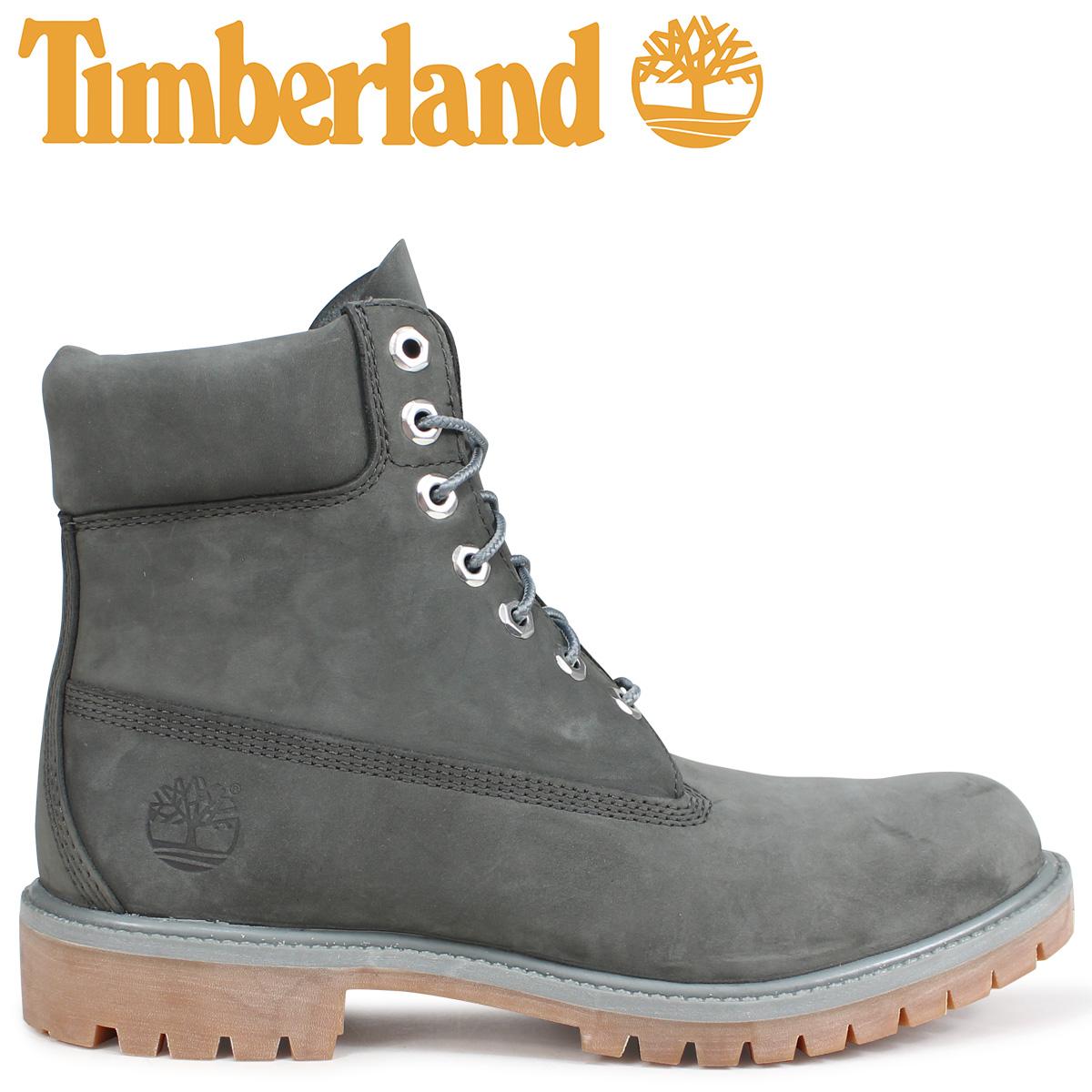 Timberland ブーツ メンズ 6インチ ティンバーランド 6-INCH PREMIUM BOOTS A1UFH Wワイズ ダークグレー [9/7 新入荷]