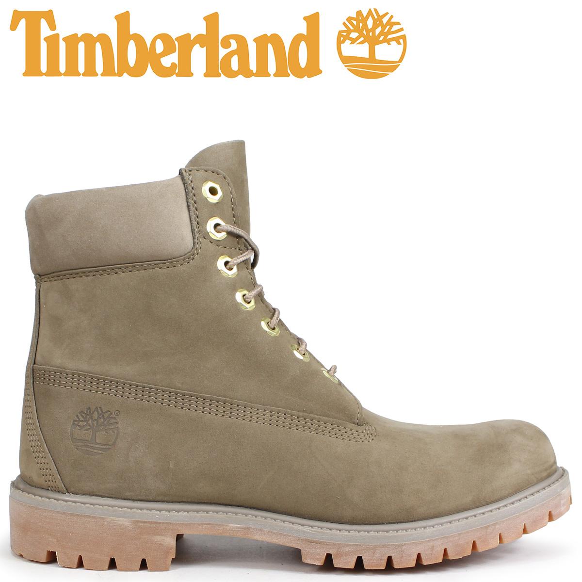 Timberland ブーツ メンズ 6インチ ティンバーランド 6-INCH PREMIUM BOOTS A1UFS Wワイズ ダークベージュ [9/7 新入荷]