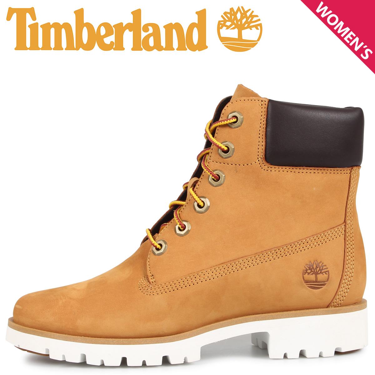 Timberland ティンバーランド ブーツ レディース 6インチ クラシック ライト WOMENS CLASSIC LIGHT 6INCH BOOTS ウィート A1VXN