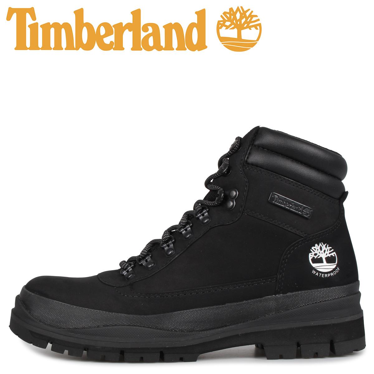 Timberland ティンバーランド ブーツ メンズ ウォータープルーフ フィールドトレッカー FIELD TREKKER ブラック 黒 A1YWV