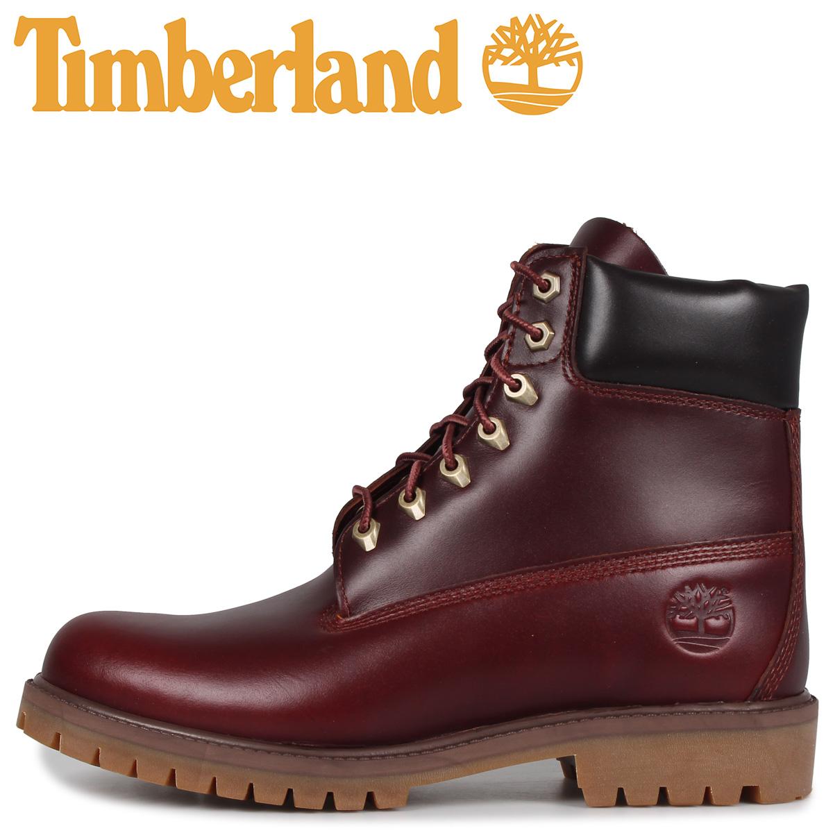 Timberland ティンバーランド ブーツ 6インチ クラシック メンズ ウォータープルーフ 6INCH CLASSIC WATERPROOF BOOT ブラウン A22W9